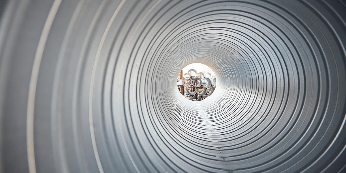Närproducerad ventilationskanal från Lindab